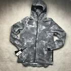 Nike Lebron James MVP Showtime Grey Camo Full Zip Hoodie 857