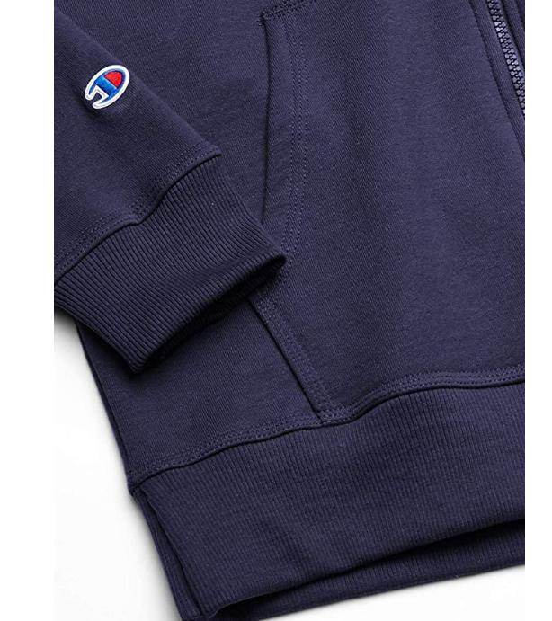 Champion Powerblend Full Hoodie Jacket Zipper Hooded