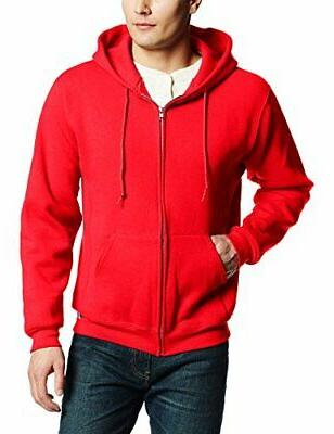 Russell Athletic Men's Dri Power Full Zip Fleece Hoodie Swea