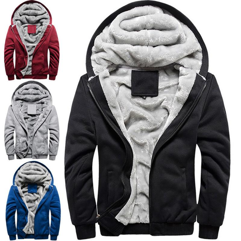 Men's Jacket Winter Warm Zip
