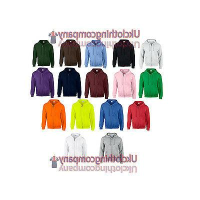 men s heavy blend adult full zip