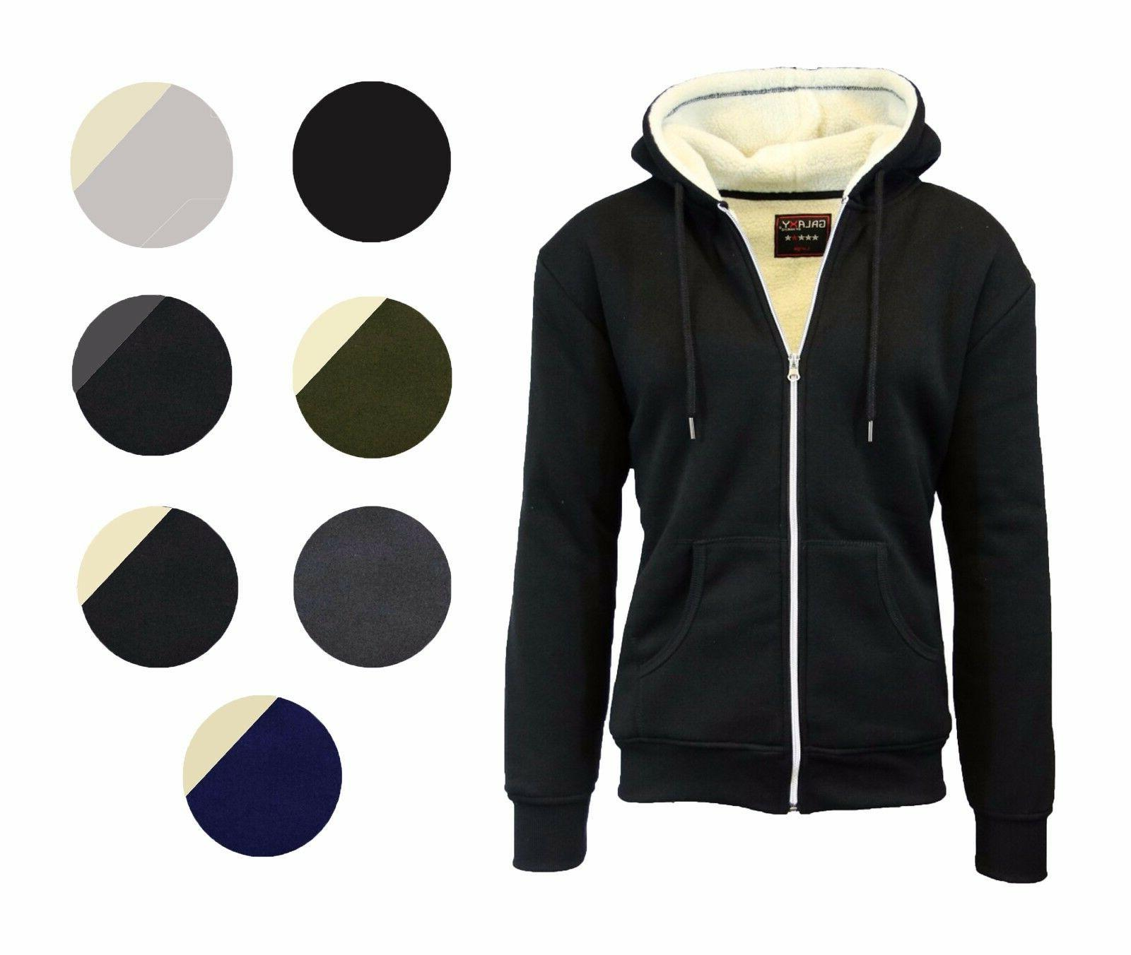 Men's Heavy Fleece Jacket Full