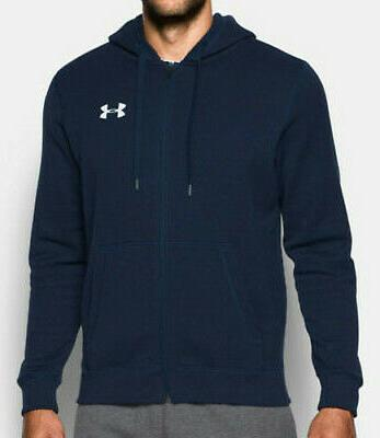 Men's Navy Blue Armour Fitted Full NWT