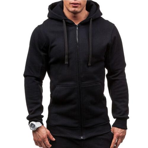 Men's Color Up Classic Hooded Sweatshirt Top