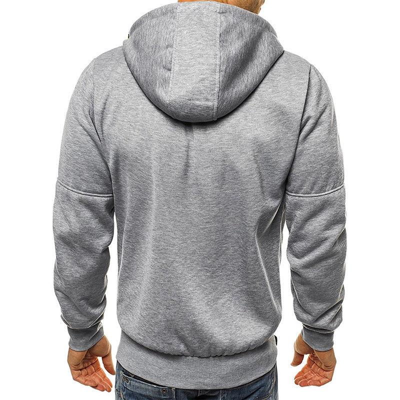Men's Up Zipper Sweatshirt Tops