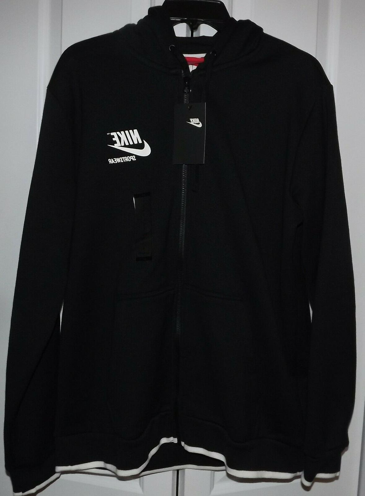 men s sportswear full zip hoodie jacket