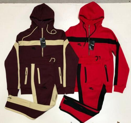 Nike Suit Complete Set Full Hoodie Joggers Men's Sweat Suit