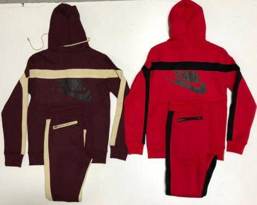Nike Suit Brand Complete Hoodie Joggers Sweat Suit