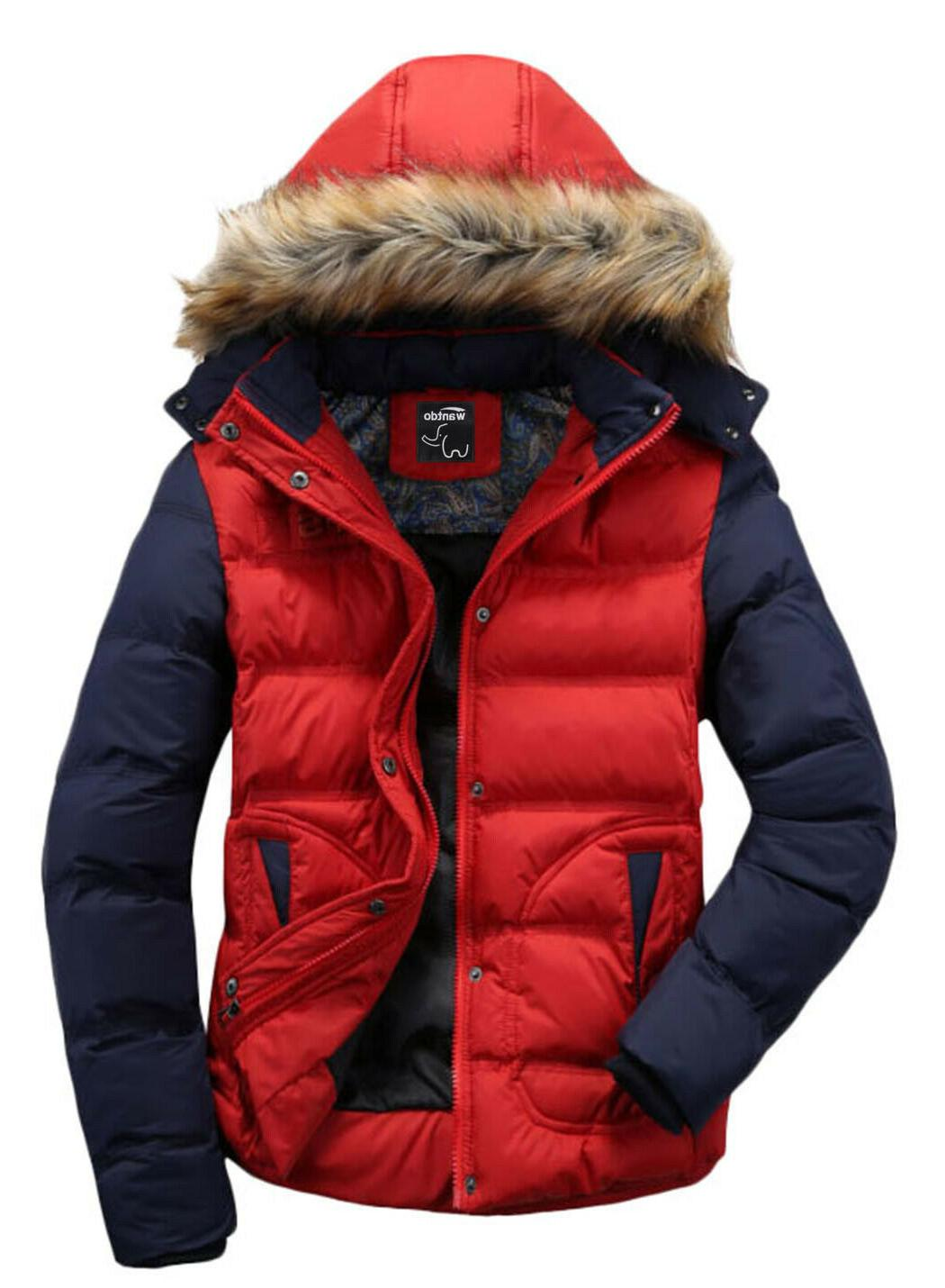 Wantdo Winter Coat Casual Warm Outwear