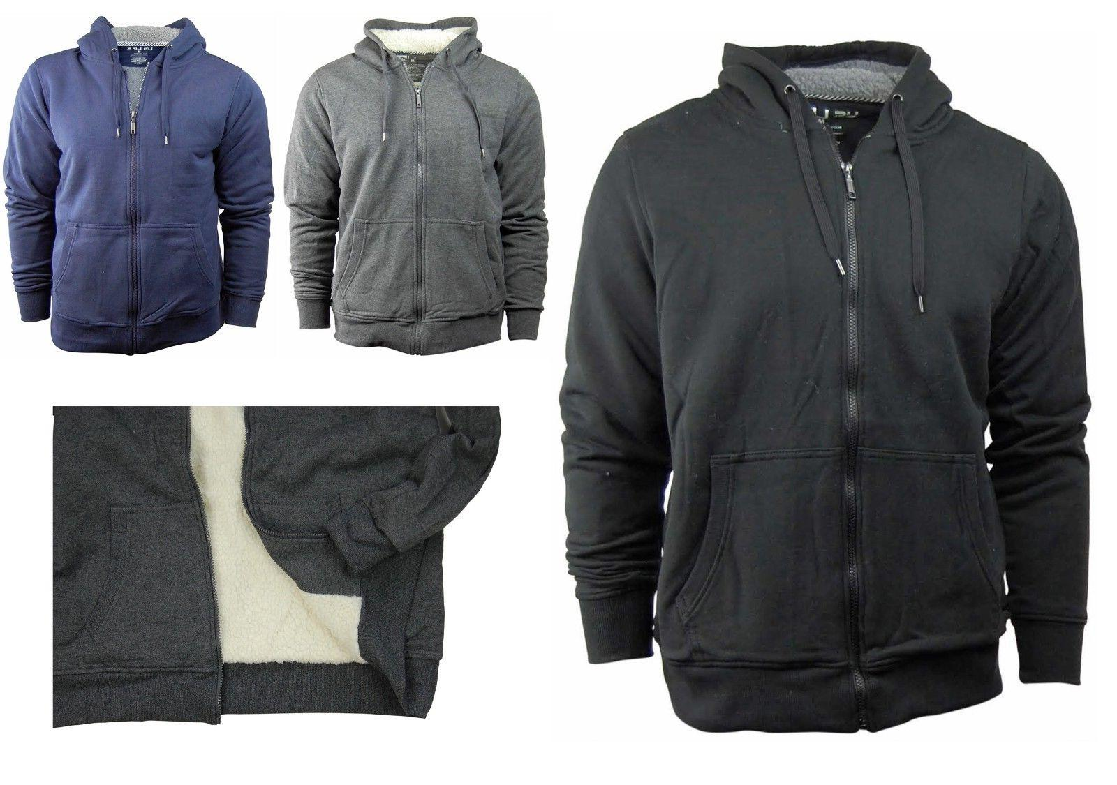 men s zip up hoodie hooded jacket