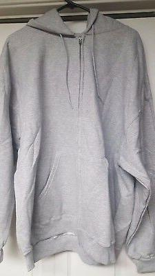 CHAMPION  MENS  FULL ZIP HOODIE SWEATSHIRT  LARGE