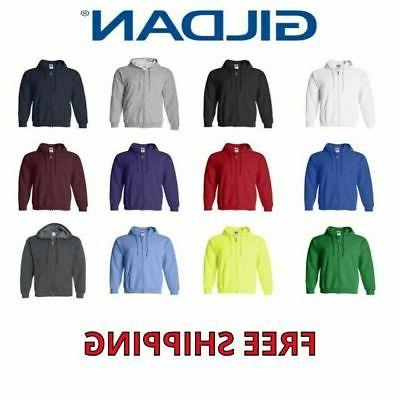 mens heavy blend full zip hooded sweatshirt