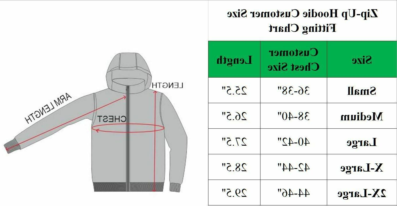 Lined Hoodie Sweater Zip-Up Warm