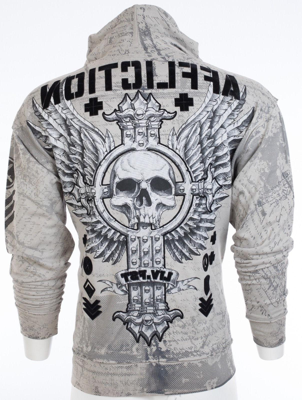 AFFLICTION HOODIE Sweat Shirt VIVE UFC $78