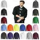 Gildan Mens Hoody Heavy Blend  Hooded Full-Zip Sweatshirt S-