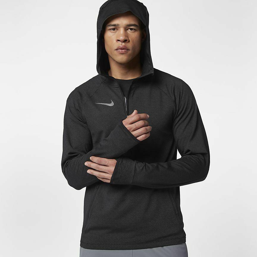 mens sphere half zip tech training hoodie