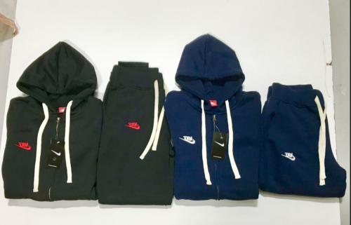 mens sweatsuit hoodie and joggers zip up