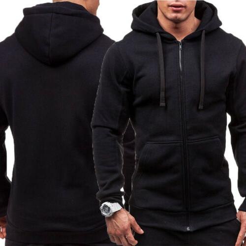 Mens Thick Sherpa Hooded STOCK
