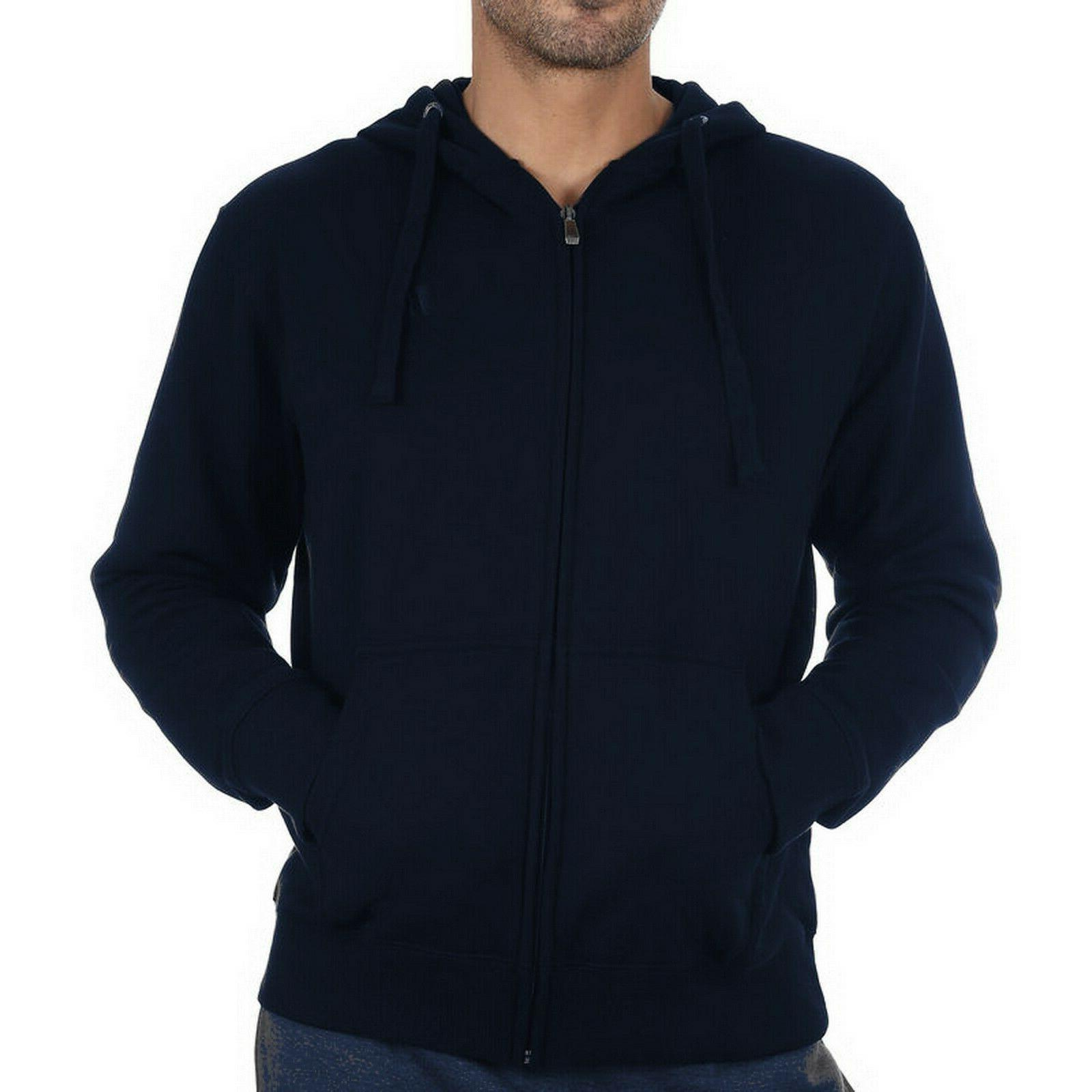 RUSSELL ATHLETIC Mens Zip Through Sz S M 3X
