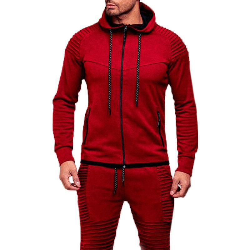 Men's Hoodie Long Sports Gym Tops