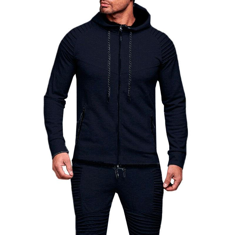 Men's Long Sleeve Sports Gym Tops