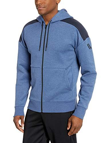 middleweight fleece zip loose fit