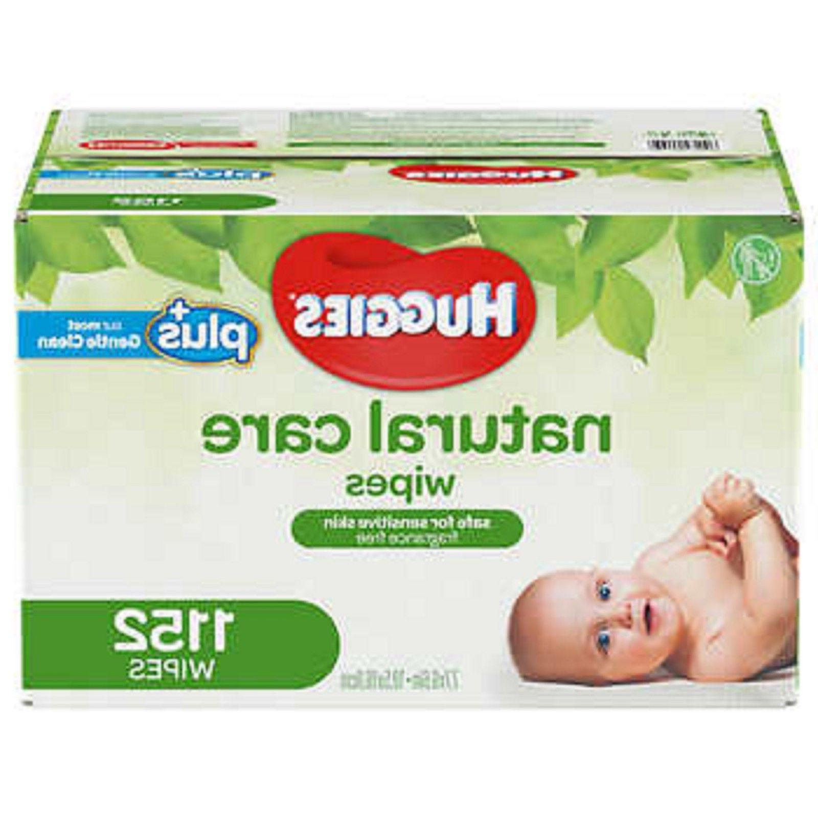 Huggies Natural Care Plus Baby Wipes 1152 count - NO TAX - N
