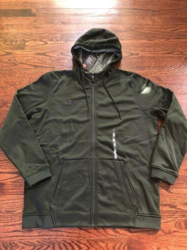 NWT$60 Under Armour Fleece Green L XL
