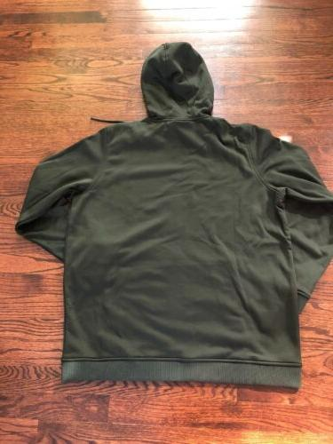 NWT$60 Fleece Full-Zip Men's Green 1320744 L