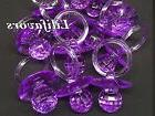 24 PCS  Pacifiers For Baby Shower Purple Party Decorations G