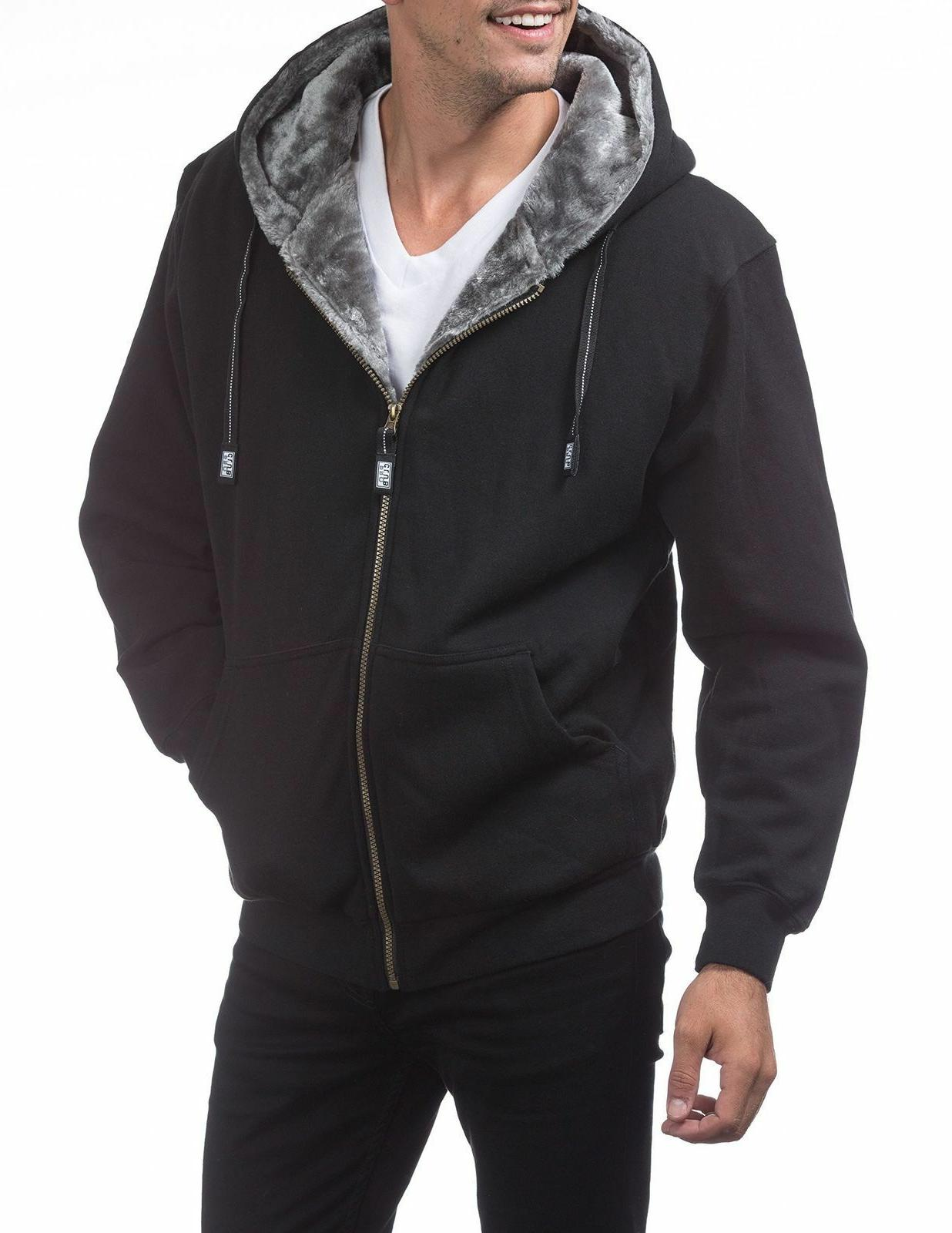 Pro Pile Full Zip Thick Jacket S-5XL
