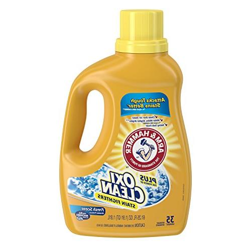plus oxiclean liquid laundry detergent