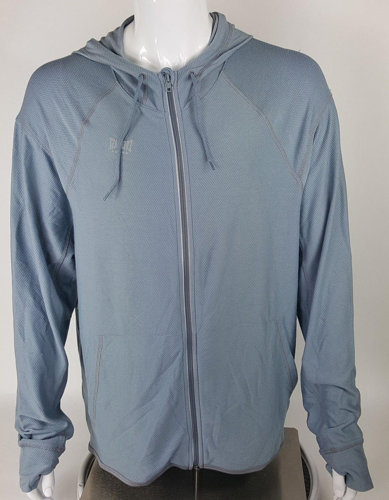 Everlast Big 2X Gray Blue Wick Athletic Zip NWT