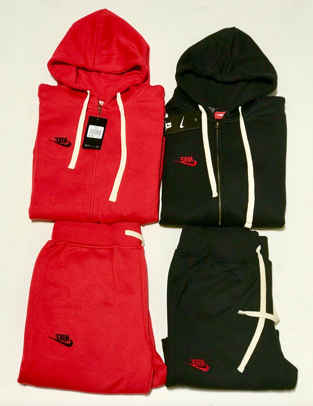 sweat suit zip up hoodie and joggers