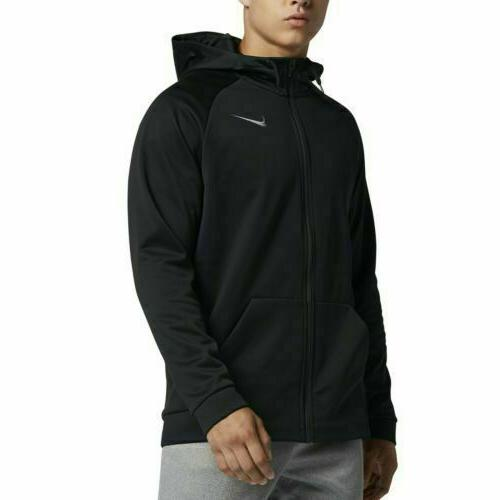 therma full zip men s hoodie size