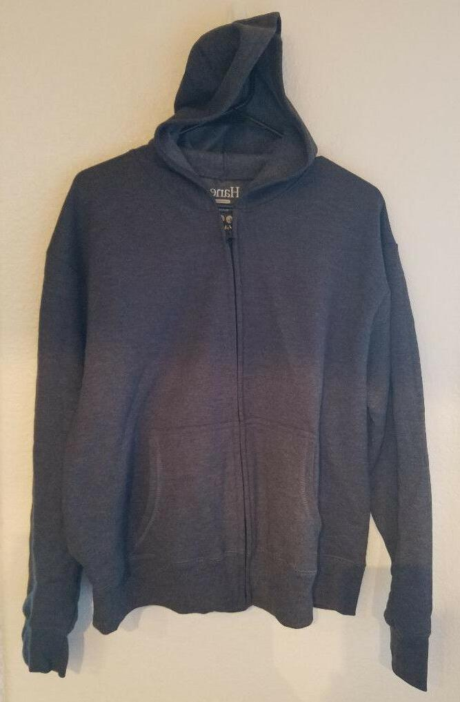 women s full zip hooded jacket slate