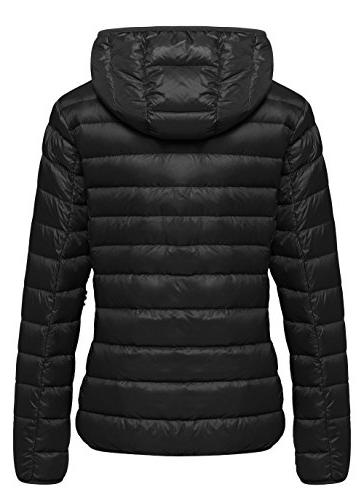 Wantdo Women's Ultra Weight Down Coat Short Outwear