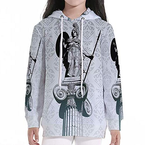 young boys pullover hoodies sculptures decor statue
