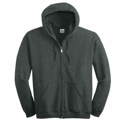 Gildan Up Blend Full Hooded Sweatshirt NEW Mens 18600