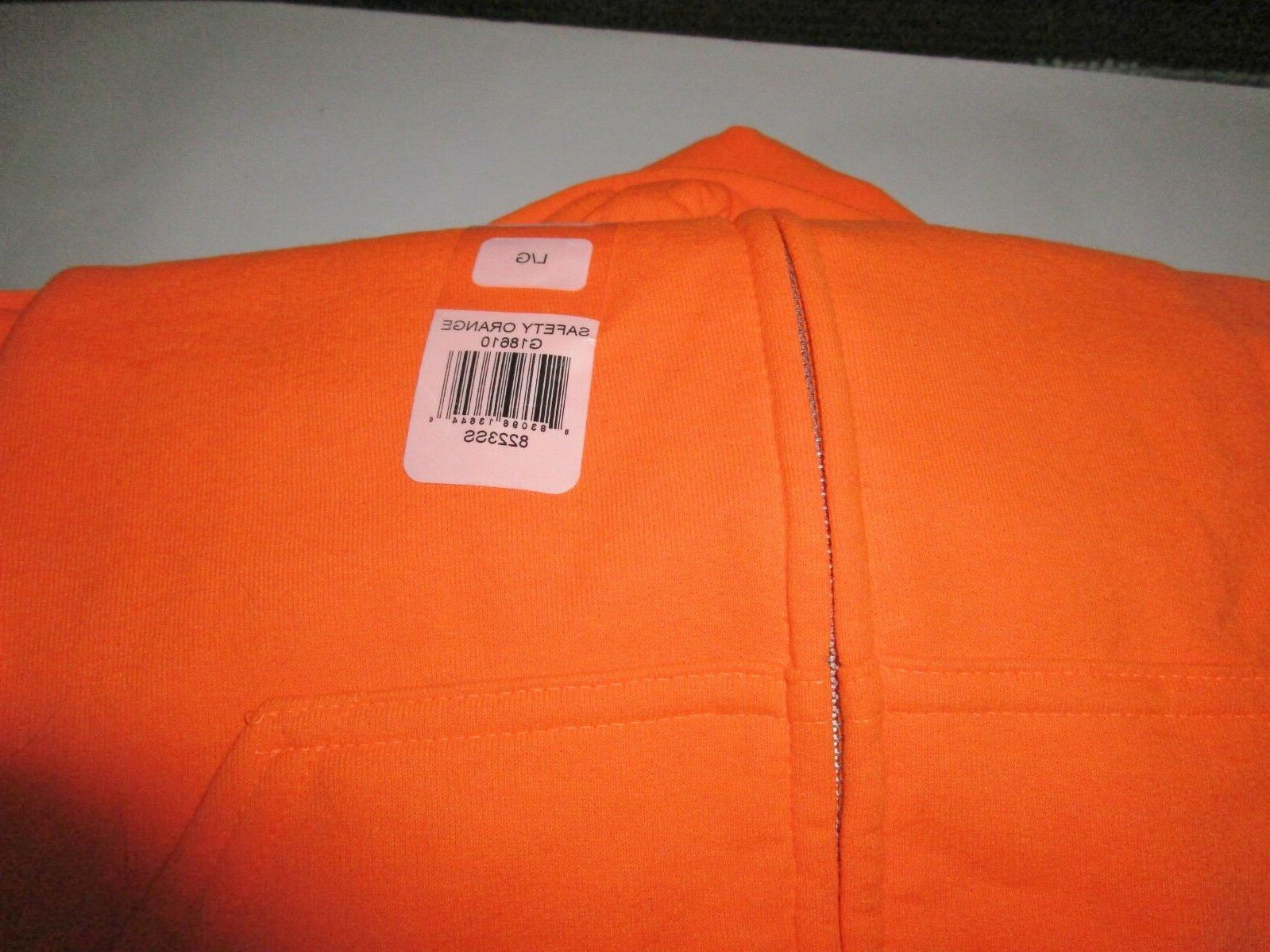Gildan safety Sweatshirt Soft 18610 Large