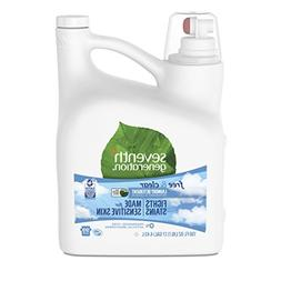 Seventh Generation Liquid Laundry Detergent, Free & Clear, 1