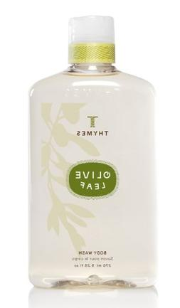 Thymes Body Wash, Olive Leaf, 9.25-Ounce Bottle