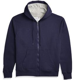 Champion Men Powerblend Fleece Full Zip Hoodie Jacket Zipper