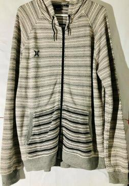 Hurley Men's Bayside ZIP UP Hoodie SIZE XL Xlarge BNWT Great