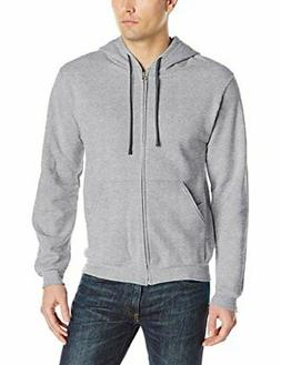 Fruit of the Loom Men's Full-Zip Hooded Sweatshirt Sweater