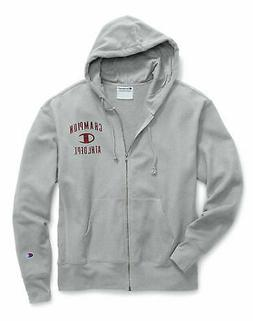 Champion Hoodie Men's Sweatshirt Heritage Fleece Full Zip Di