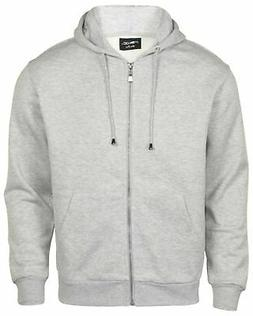 9 Crowns Men's Idea Flex Zip Up Hoodie