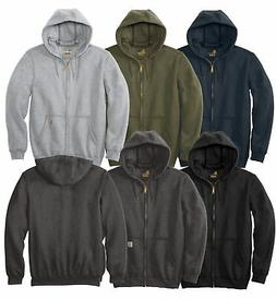 Carhartt Men's Midweight Hooded Sweatshirt Zip Front Long Sl