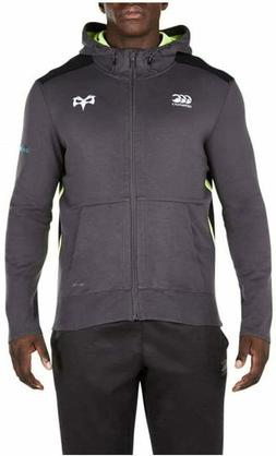 Canterbury Men's Osprey VapoDri Full Zip Hoodie - Dark Grey