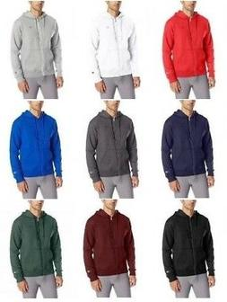 Champion Men's Powerblend Fleece Full-Zip Hoodie Hooded Swea